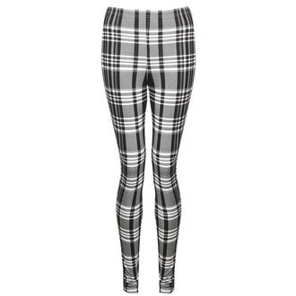View Item Monochrome Tartan Leggings